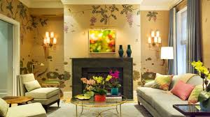 Wallpapers Designs For Home Interiors by Fabulous Living Room Wallpaper Design Ideas Youtube