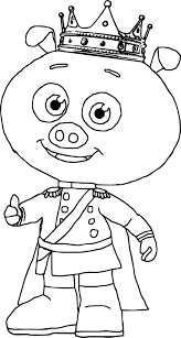 super sonic coloring pages prince pig super why coloring page wecoloringpage