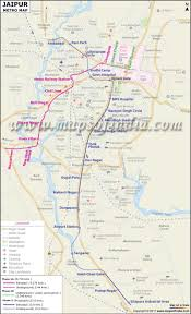 Metro Lines Map by Metro Map