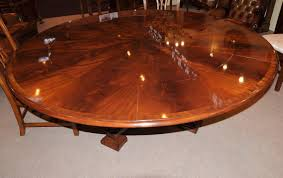 Expandable Dining Room Table Plans Round Expandable Dining Room Table Fujizaki