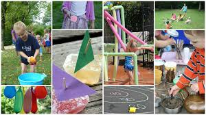 cool down with these fun water games for kids