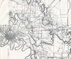 San Antonio Texas Map Texas Cities Historical Maps Perry Castañeda Map Collection Ut