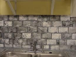 gray brick backsplash nana u0027s workshop