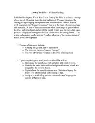 Lord of the Flies Unit Materials   The Lord of the Flies Unit is a comprehensive Pinterest