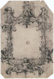 file design for a frame by hans holbein the younger jpg