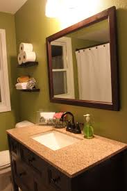 81 best green and white bathrooms images on pinterest bathroom home depot espresso dark wood vanity before and after bathroom remodel over the toilet shelves