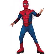 spider man homecoming kids deluxe costume spiderman halloween