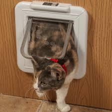 catflap in glass door cat mate elite selective and super selective cat doors at
