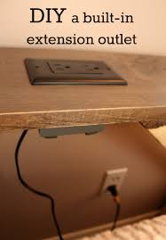 Cool Electrical Outlets by We Converted A Wall Outlet Into An Extension Outlet For Our Tv