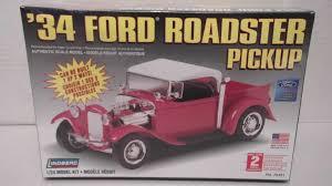 Old Ford Truck Model Kits - lindberg 1934 ford roadster pickup plastic model truck scale 1 24