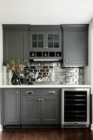 Glass Subway Tiles For Kitchen Backsplash Best 25 Gray Kitchen Cabinets Ideas Only On Pinterest Grey
