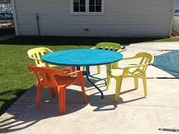 Spray Painting Metal Patio Furniture - paint for plastic patio furniture bedroom and living room image