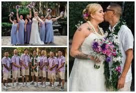 angelique u0026 ryan hilton to tiki u0027s oahu u2022 aloha bridal connections