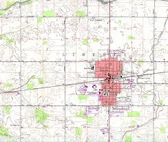 Van Wert Ohio Map by Geometry Net Basic O Ohio Maps