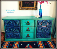 Hand Painted Furniture by The Turquoise Iris Furniture U0026 Art February 2013