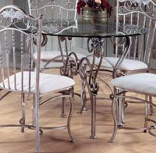 Patio Furniture Counter Height Table Sets - hillsdale bordeaux round dining table with glass top purchase