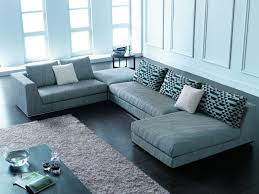 Black Leather Couch Living Room Ideas Living Room Red Black Leather Sectional Sofa With Recliner And