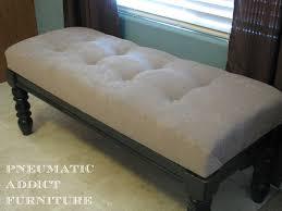 furniture luxury tufted storage bench for modern seat design