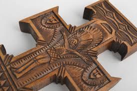 madeheart u003e handmade wall crucifix wooden cross church supplies