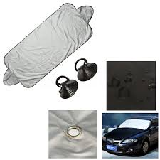 nissan altima coupe in snow 2x car windshield protector visor cover sun shade prevent snow
