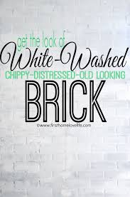 white brick accent wall first home love life
