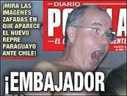 Escândalo sexual leva embaixador do Paraguai no Chile a renunciar