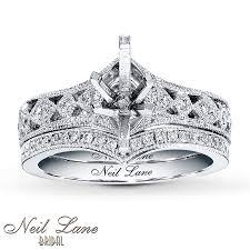 neil lane engagement rings jared neil lane bridal setting 3 8 ct tw diamonds 14k white gold