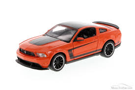 Mustang Boss 302 Black Ford Mustang Boss 302 Orange With Black Showcasts 34269 1 24