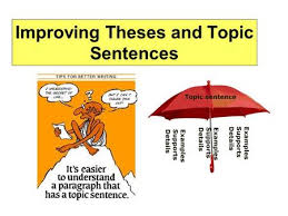 Tess of the D     Urbervilles Term   Lesson   Learning objectives        SlidePlayer Improving Theses and Topic Sentences  Thesis and Topic Sentences Should be analytic rather than merely