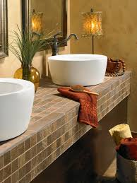 Bathroom Vanity With Tops by Choosing Bathroom Countertops Hgtv