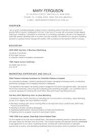 Online Marketing Manager Resume by 28 Resume Samples For Applying Professional Marketer Positions