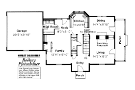 House Plans With 3 Car Garage by Colonial House Plans Houseplans Com With Porch Hahnow