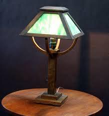 Stickley Floor Lamp Voorhees Craftsman Mission Oak Furniture Arts U0026 Crafts Mission