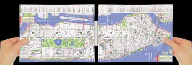 Map New York City by Pop Up Nyc Map By Vandam City Street Map Of New York City New