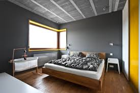 Grey Interior Cool Gray Meets Happy Yellow In This Angular Interior Interiors