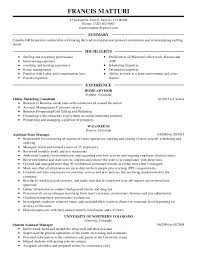 Food Service Resume Objective  resume template food service resume     happytom co