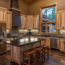kitchen modern kitchen hickory cabinets subway tile backsplash
