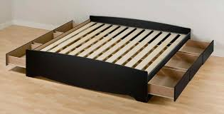 King Size Floating Platform Bed Plans by Diy King Bed Frame Yakunina Info