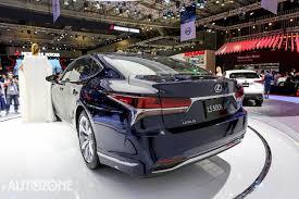 hang xe lexus tai sai gon vms 2017 cận cảnh lexus ls500h vừa có mặt tại sài gòn u2013 autozone