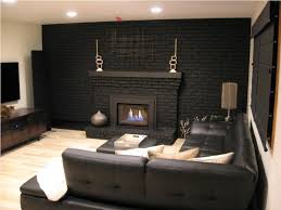 painting brick fireplace idea plans u2014 home design lover the