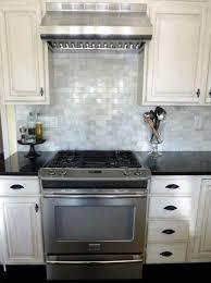 Glass Subway Tile Backsplash Kitchen Champagne Glass Subway Tile Kitchen Backsplash With Dark Cabinets