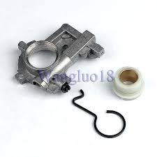 oil pump oiler worm gear spring for stihl ms650 ms660 066 064av