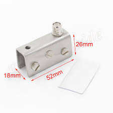 glass door hinges for cabinets middle cabinet glass door hinge 52mm x 26mm x 18mm on sale door