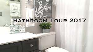 bathroom decorating ideas u0026 tour on a budget youtube