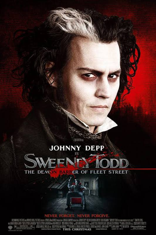 Sweeney Todd The Demon Barber of Fleet Street 2007 Full Movie Download BluRay 480p 541MB And 720p 1.02GB
