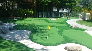 Backyard Golf Hole by Minigolf In Your Backyard Precision Greens
