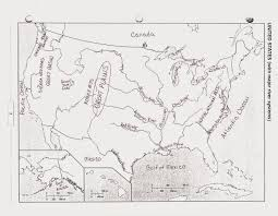 United States And Canada Map by Mr E U0027s World Geography Page Chapter 5 The Physical Geography