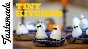 boo halloween tiny ghost meringues tiny kitchen youtube