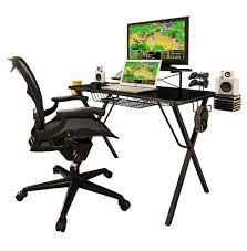 Xbox Gaming Desk by Amazon Com Atlantic 33950212 Gaming Desk Pro Kitchen U0026 Dining