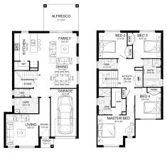 claremont 23 double level floorplan by kurmond homes new